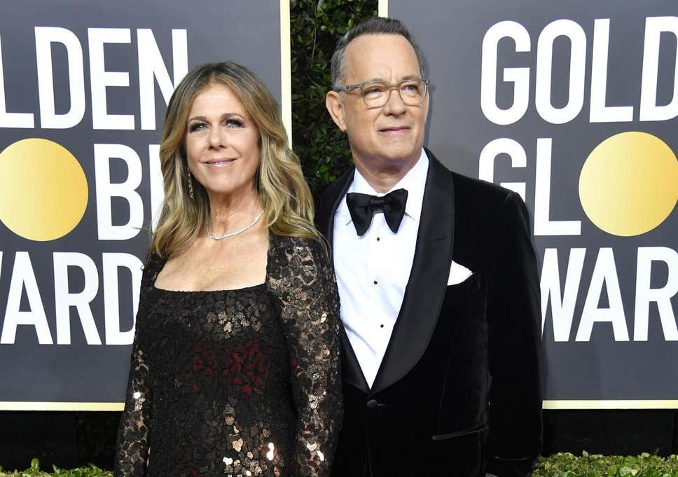 Make Up Artists of Rita Wilson Gets Late Before Golden Globes
