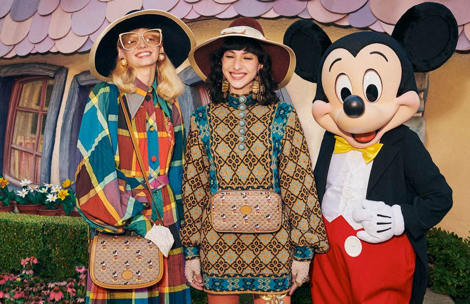 Mickey Mouse Themed Gucci Collection to Celebrate Chinese New Year