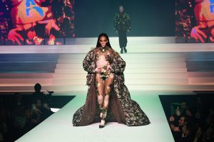 A Complete Star Studded Experience- Gaultier's Fashion Show