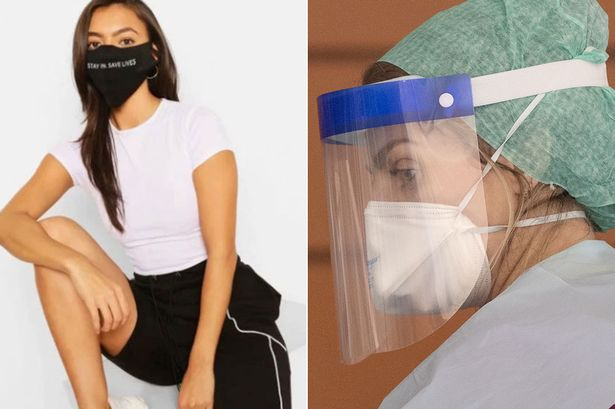 Boohoo Accused of Selling Accessory Face Mask